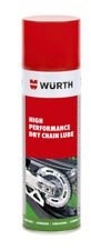 WURTH  DRY CHAIN LUBE HIGH PERFORMANCE 1 X 150 ML NO SPLASH HANDY CAN-FREE POST