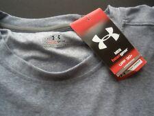 Under Armour 2XL  / XXL Mens Gray NEW T-shirt Heat Gear UPF 30+ Training