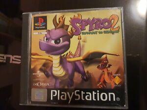 Lotto Ps1 Spyro 2 Pal Ita MULTILINGUA RARISSIMO BLACK LABEL PS2 PS3 NO PS4 🇮🇹