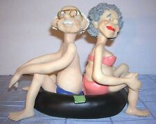 EFY RESIN TUBING COUPLE SHELF SITTER FIGURINE (P-B)
