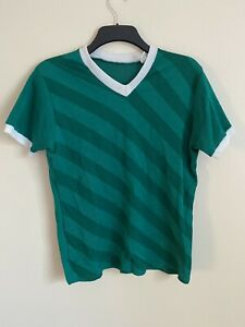 Vintage Footaball Shirt Green -Medium