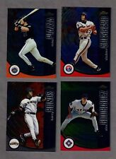 2001 FINEST COMPLETE 140 Card Set  with all SP's, REYES R/C