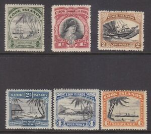 COOK ISLANDS STAMPS MOUNTED MINT