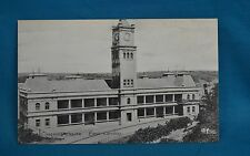 c1910 Printed Photo Postcard Customs House East London South Africa