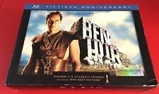 Ben-Hur (Blu-ray Disc, 2011, 3-Disc Set, Limited Edition Fiftieth Anniversary...