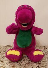 "Dakin The Lyons Group Barney Plush Puppet 1992 - 15"" Tall"