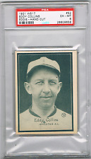 "(B) 1931 W517 #52 EDDIE COLLINS *PSA 6* *HOF *BLACK SOX SCANDAL ""CLEAN"" PLAYER"