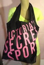 victoria secret  sport  gym tote bag with head tie black