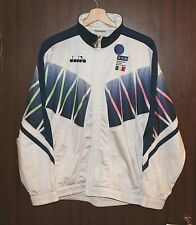 1994 ITALY World cup USA Football TRACKSUIT Jacket size M DIADORA Tricot Shirt