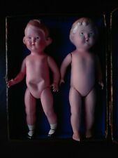 Two antique celluloid dolls