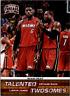 2012-13 Panini Threads Talented Twosomes #3 LeBron James/Dwyane Wade - NM-MT