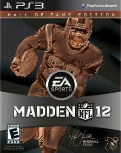 Madden NFL 12 - Hall of Fame Edition - Playstation 3 Game