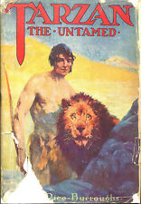 Tarzan the Untamed-Edgar Rice Burroughs-Grosset & Dunlap Edition in DJ-
