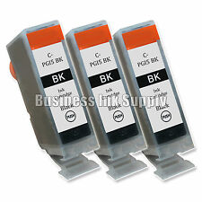3 New Black PGI-5 PGI-5BK PGI5 GENERIC Ink Cartridge for Canon PIXMA MP830 MP500