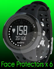 Suunto M5 watch face protector x 6 protection. Protect your watch from scratches