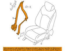 Infiniti NISSAN OEM EX35 Front Seat-Belt & Buckle Retractor Right 868841BA1A