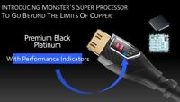 Monster 4K UltraHD Premium Black Platinum Ultimate HDMI Cable w/ Ethernet 10m