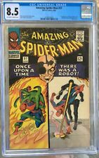 Amazing Spider-Man #37 (1966) CGC 8.5 -- O/w to white pgs; 1st Norman Osborn