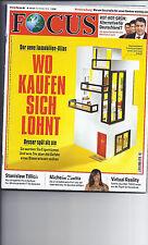 Zeitschrift FOCUS Nr 43 v 22.10.2016 Immobilien kaufen,  Michelle Obama, Mossul