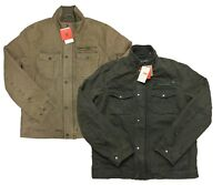 Levi's Red Tab Men's Knit Collar Cotton Canvas Shell Cargo Trucker Jacket Coat