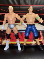 WWE JOHN CENA & DOLPH ZIGGLER WRESTLING FIGURES MATTEL STRIKE