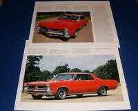 ★★1965 PONTIAC GTO PHOTO/POSTER LOT 65 66 LEMANS TEMPEST★★