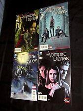 DC Comics Vampire Diaries Books #3, 4, 5, 6 High Grade V46
