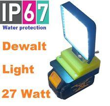 DeWalt 27 Watt LED flood light with 180 degree adjustment
