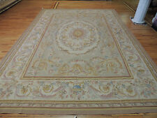 Magnificent Large French Aubusson Style Area Rug 10x14 Oriental Area Rug