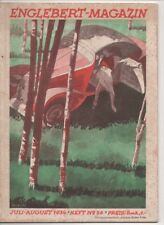 Englebert-Magazin  N°   26    juli-august 1934