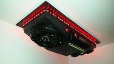 "NEW! UTV Golf Cart Overhead Radio Console Kenwood Stereo CD Player 6.5"" Kickers!"