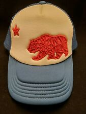 The North Face California State Flag Trucker Hat Blue/White Snapback A-2