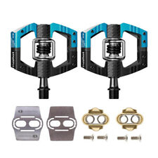Crank Brothers Mallet Enduro Bike Pedals (Black) w/ Cleats and Shoe Shields Set