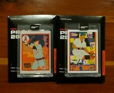 FUCCI Topps Project 2020 - Lot of 2 - MIKE TROUT & FRANK THOMAS Baseball Cards