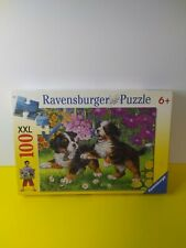 Ravensburger Puppies Jigsaw Puzzle  14 x 19 - 100 XXL NEW - 2005