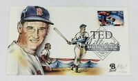 Ted Williams Baseball Museum 1994 Bevil HD & HP Cachet First Day Cover