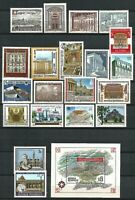Austria 1970s-1990s MNH Stamp Collection Architecture Vienna Old New Buildings