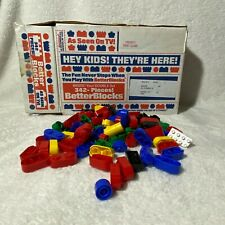 Vintage Lot of 342 Better Blocks in Box As Seen on TV! BetterBlocks Set Not Lego