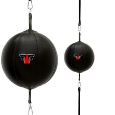 FOX-FIGHT Doppelendball Speedball Boxbirne Punchingball Schlagbirne echtes Leder