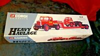 Corgi 1/50 Scale Diecast 31004 - Scammell Articulated Bedford S & Low Loader Set