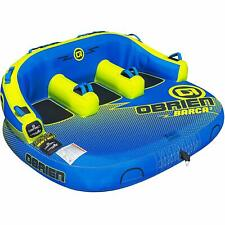 O'Brien 2201586 Watersports Barca 3 Person Comfy Kickback Lite Towable Boat Tube