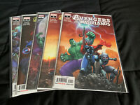 AVENGERS OF THE WASTELANDS #1-5 Set Marvel Comics 2020 First Print Brisson
