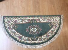 JALNA GREEN INDIAN HALF MOON RUG NEW IN STOCK READY FOR DELIVERY