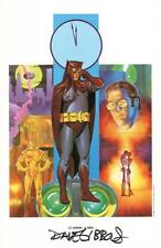 Alan Moore Watchmen Portfolio DC Comic Art Print SIGNED Dave Gibbons Nite Owl