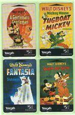 New Zealand - 1995 Disney - Mickey Mouse Set (4)  - NZ-A-123/6 - Mint - #140040