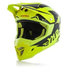 CASCO ACERBIS PROFILE 4 HELMET CROSS ENDURO MOTARD INTERNO LAVABILE GIALLO NERO