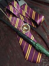 Harry Potter Hermione Book Week Costume Wand, Timeturner school Tie Gryfindor