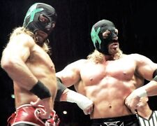 Shawn Michaels HHH Wrestling 8x10 Photo Lucha Libre Mexico Wrestler WWE Mask 2
