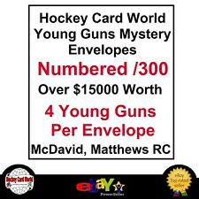 (HCW) Mystery NHL Young Guns Envelopes - McDavid, Matthews, Stamkos,& more..