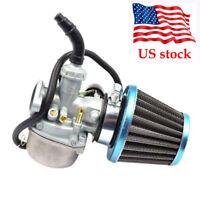 Carburetor Carb w/Air Filter For 70cc 90cc 110cc 125cc ATV Dirt Bike Go Kart